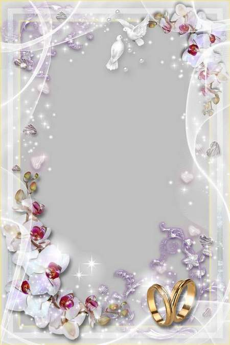 Wedding Frame - Be Happy and Unseparable