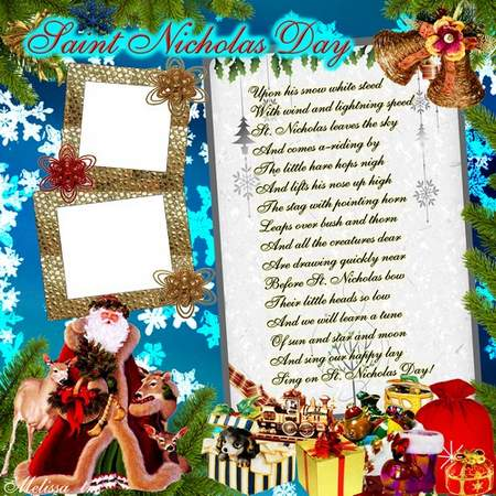 Child Frame for St Nicholas Day