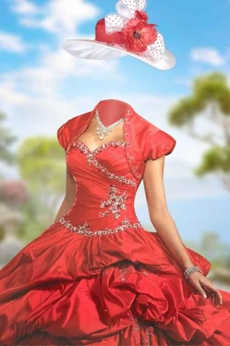 Lady in Aloe dress