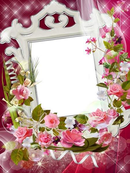 Frames - Rose flowers of joy, amazingly beautiful, amazingly tender