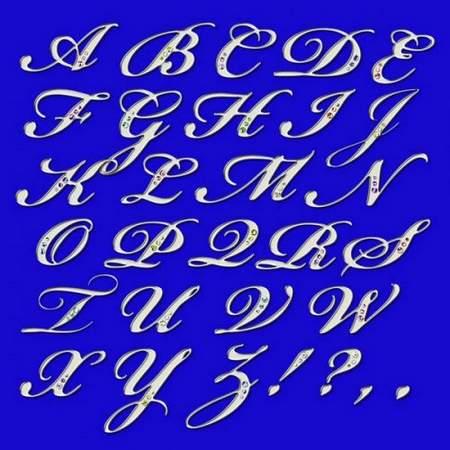 Alphabet Clipart psd