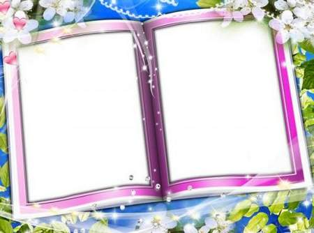 Spring Frame for Photoshop - Spring story