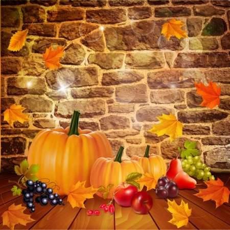 Ripe pumpkin free PSD source