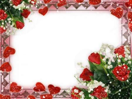 Romantic frame for Photoshop download - Always with you my love