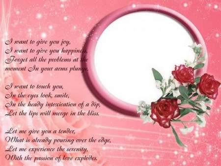 Romantic frame psd