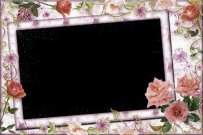 A set of frames for Photoshop - I love flowers