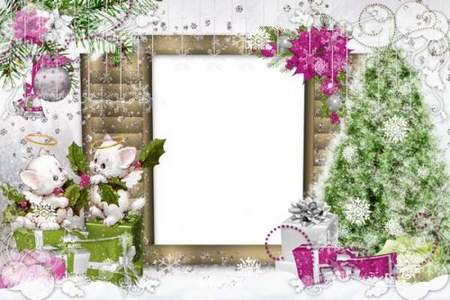 Frame for Photoshop - Christmas