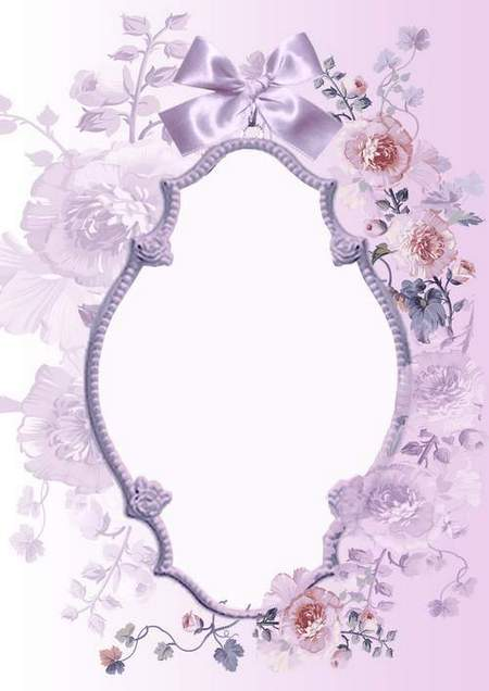 Romantic Frame for photo Tenderness for two