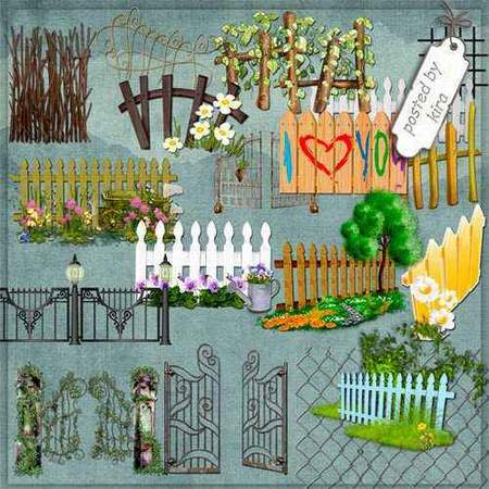 Fences png, gates png - free 115 png images for garden download
