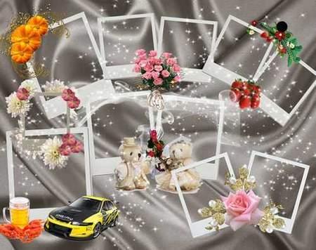 Polaroid frames png download - free 28 polaroid photo frames