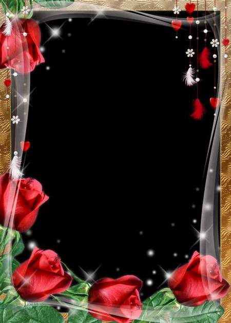 Frame for Romantic Photos - Love (free 2 frame psd free 2 frame png ...