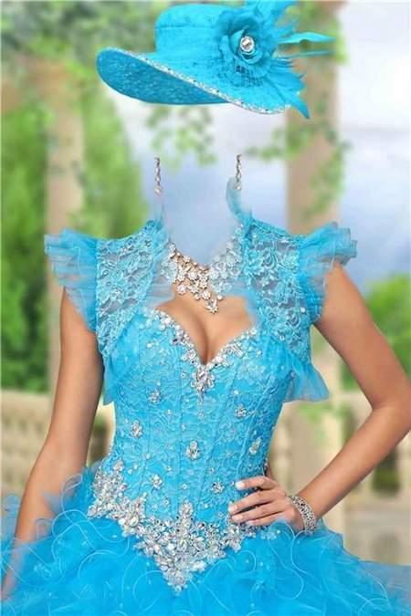 Lady in elegant dress with jewelry