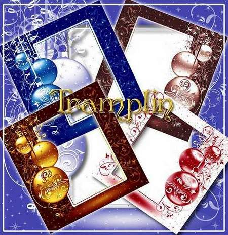 New years frames png download - free 5 frames png