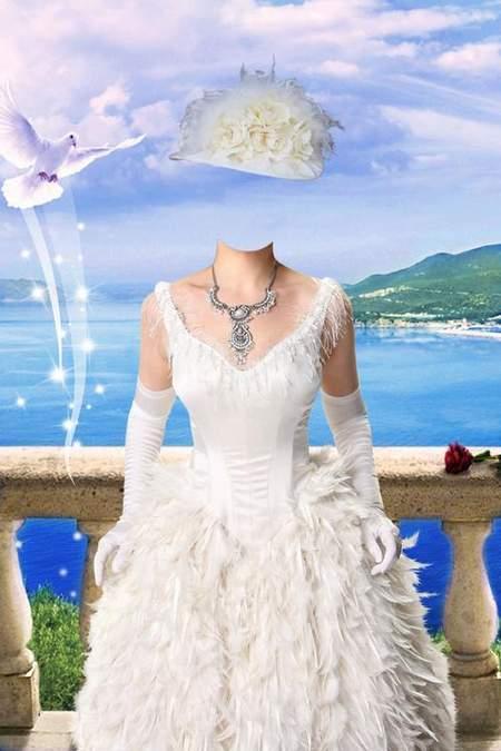 Women's suit for Photoshop - a noblewoman