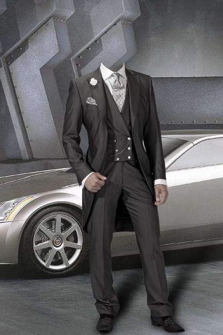 Men's suit for Photoshop - Stylish guy
