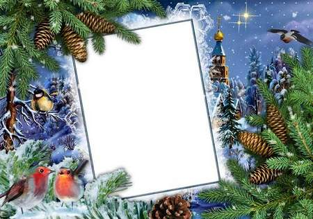 Baby New Year photoshop frames - Holiday approaches ( free 6 frames png)
