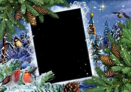 New Frames for Photoshop - Happy Holiday
