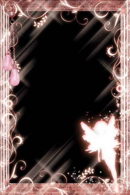 Collection of women's frames for Photoshop - Fairy Fairy (free 5 frames png)