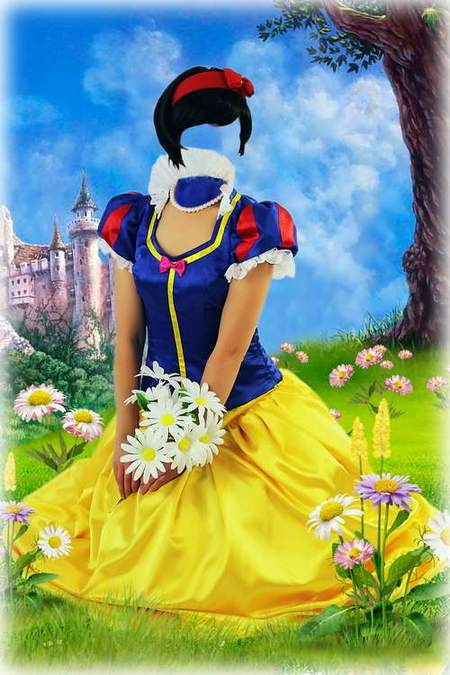 Free Psd For Photoshop Beautiful Snow White Free Psd File Psd