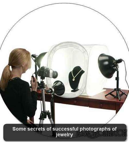 Some secrets of successful photographs of jewelry