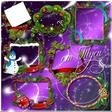 Christmas frames png - free 21 frames png free download