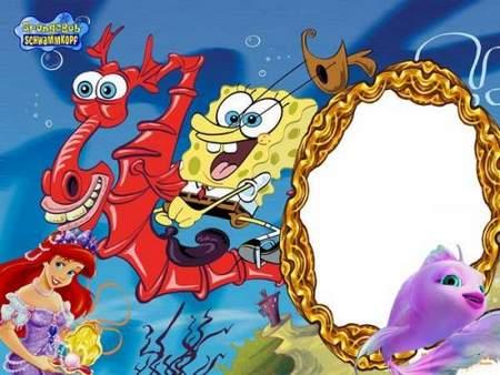 Frame for photo- SpongeBob