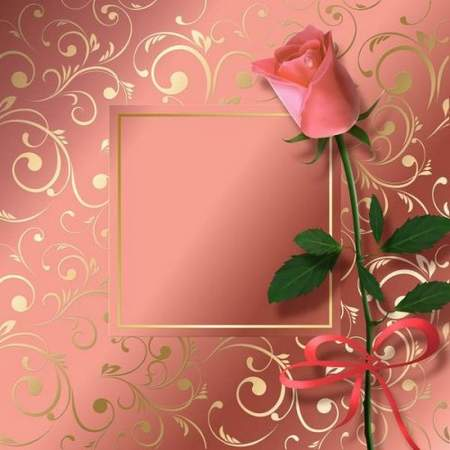 Textural backgrounds with flowers