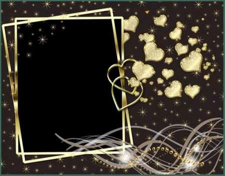 Frame romantic Lodestar - free frame psd + free frame png
