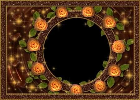 Photo frame - Chocolate dream