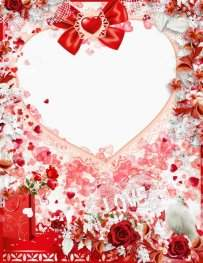 Collection framework png to the St. Valentine's day - free 8 frrames png Love is
