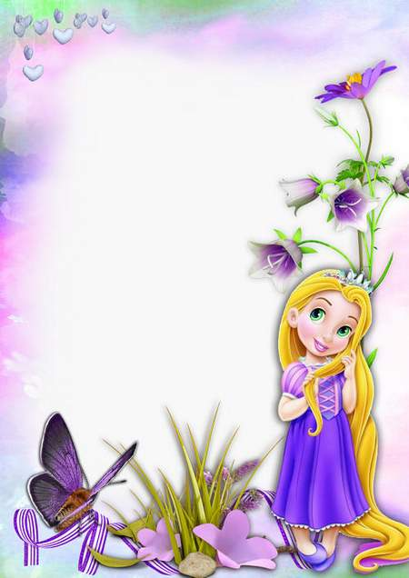Photoshop Frame For Little Girls Download Baby Rapunzel And I