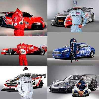 Racing Drivers Photoshop costumes psd - free 6 psd free download