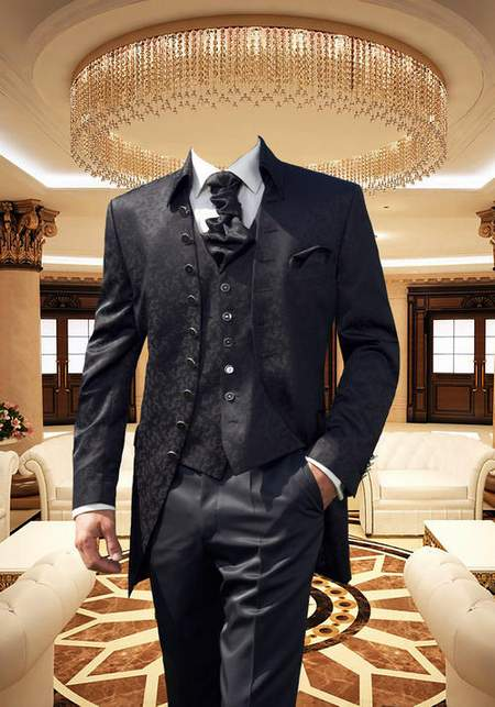 Elegant men's suits psd