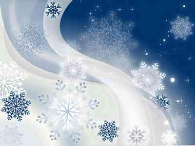 Winter backgrounds with snowflakes ( free 2 backgrounds psd, free download )