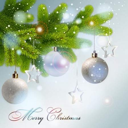 free Christmas Background psd