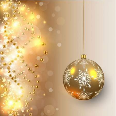 Free Christmas Backgrounds Psd 2 Layered Psd Golden
