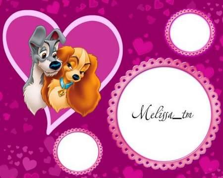 Photo frames Disney Cartoons - free frames ( 4 psd ). Transparent ...