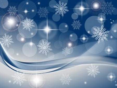 Winter backgrounds with snowflakes