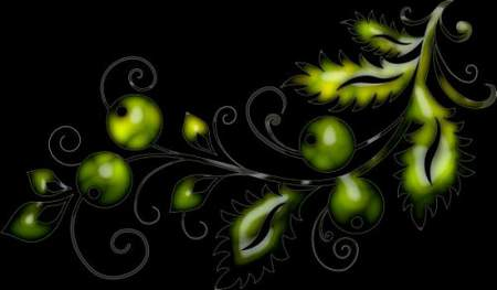 Сurls clipart on a transparent background ( free clipart psd, 27 layers, free download )