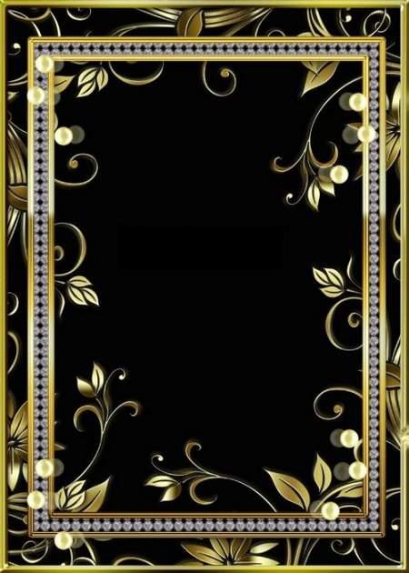Multilayer Golden frame psd