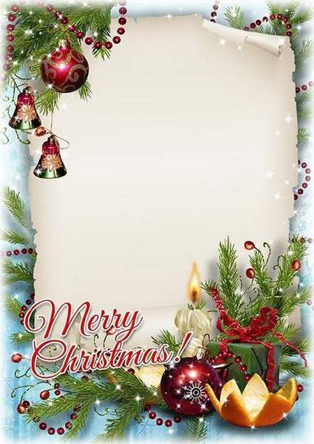 Christmas Picture Frames Free