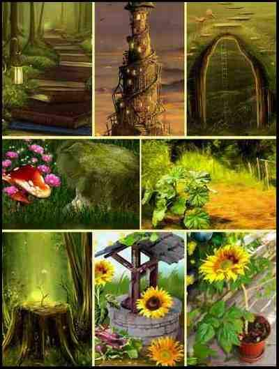 Collage Backgrounds download - 100 Backgrounds for collages ~ 670 x 945 px