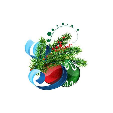 Christmas clipart psd on a transparent background ( free clipart psd file, free download )