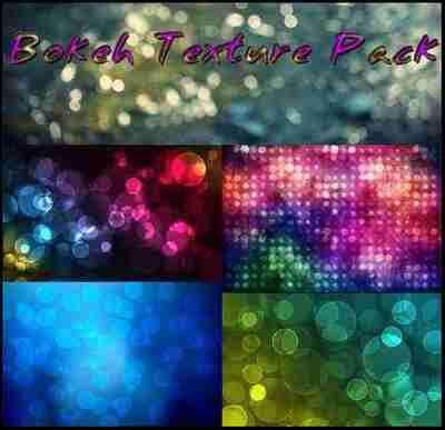 Bokeh textures set 140 jpeg + png, max 7086 x 7086 px