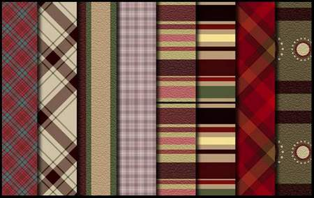 Patterns for fotoshop - Fabrics