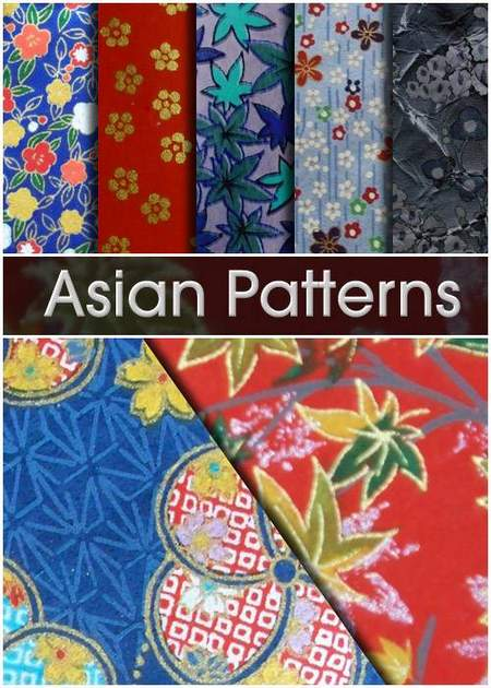 Patterns for Photoshop - Asian Patterns