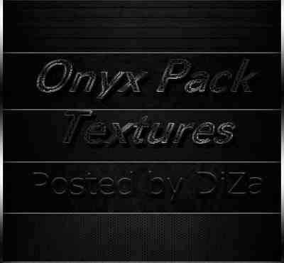Onyx Pack Textures