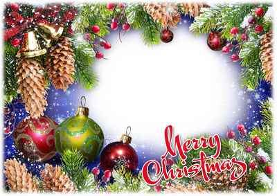 Christmas photoframe psd download ( free Christmas frame psd, free download )