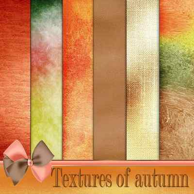 Different textures for Photoshop - textures of autumn ( free textures, free download )