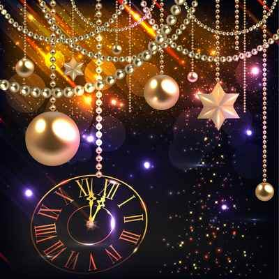 New Year PSD source -  ( free psd source, free download )